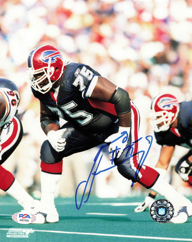 JONAS JENNINGS signed 8x10 photo PSA/DNA Buffalo Bills Autographed