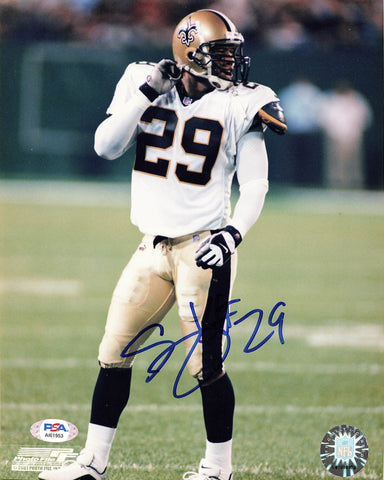 SAMMY KNIGHT signed 8x10 photo PSA/DNA New Orleans Saints Autographed