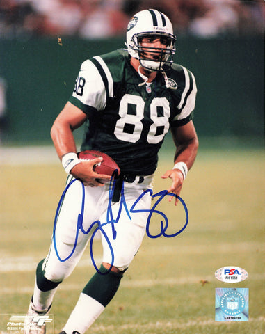 ANTHONY BECHT signed 8x10 photo PSA/DNA New York Jets Autographed