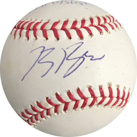 Ryan Braun signed baseball PSA/DNA Milwaukee Brewers autographed
