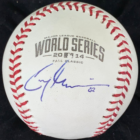 Cory Gearrin signed 2014 WS Baseball PSA/DNA San Francisco Giants autographed