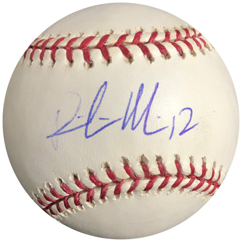 Richie Martin signed baseball BAS Beckett Oakland Athletics autographed A's