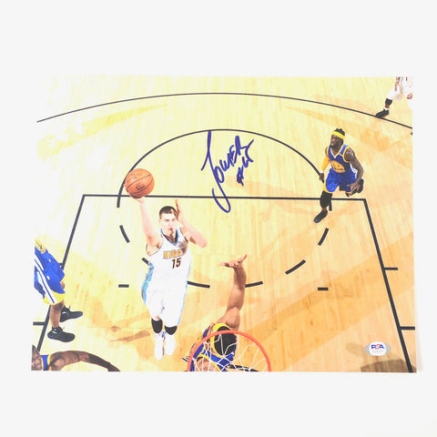 Nikola Jokic Signed 11x14 Photo PSA/DNA Denver Nuggets Autographed
