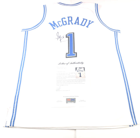Tracy McGrady signed jersey PSA/DNA LOA Orlando Magic Autographed