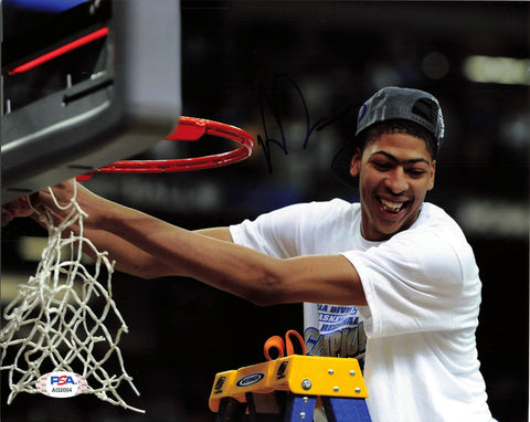 Anthony Davis signed 8x10 photo PSA/DNA Kentucky Autographed