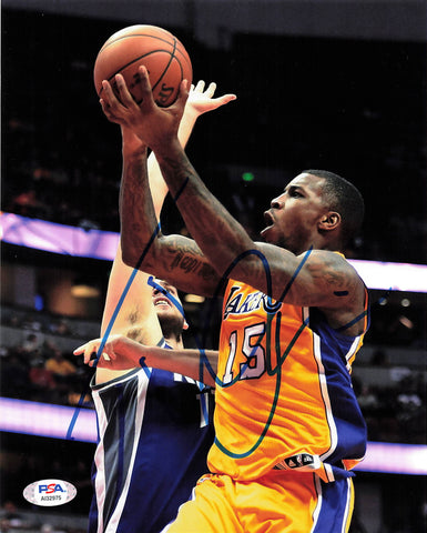 Thomas Robinson signed 8x10  photo PSA/DNA  Los Angeles Lakers Autographed