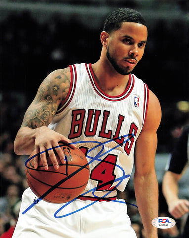 DJ Augustin Signed 8x10 Photo PSA/DNA Chicago Bulls Autographed