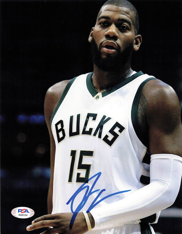 Greg Monroe signed 8x10 photo PSA/DNA Milwaukee Bucks Autographed