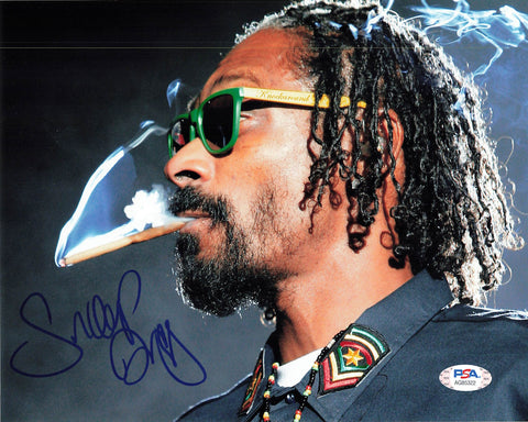 Snoop Dogg signed 8x10 photo PSA/DNA autographed Rapper