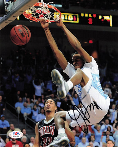 John Henson signed 8x10 photo PSA/DNA North Carolina Autographed
