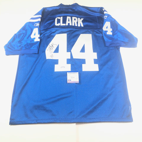 Dallas Clark signed jersey PSA/DNA Indianapolis Colts Autographed