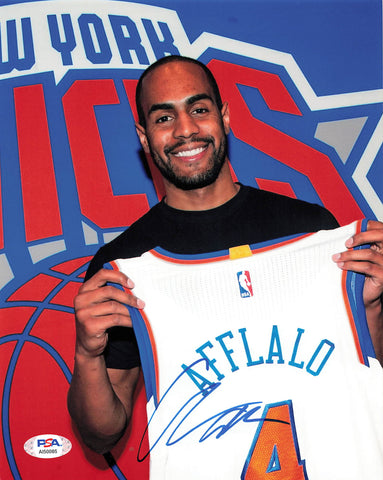 Arron Afflalo signed 8x10 photo PSA/DNA New York Knicks Autographed