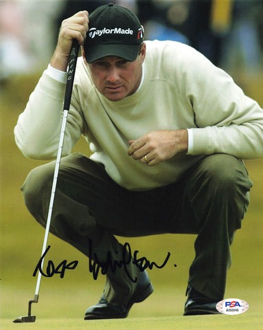 Todd Hamilton Signed 8x10 photo PSA/DNA Autographed Golf PGA
