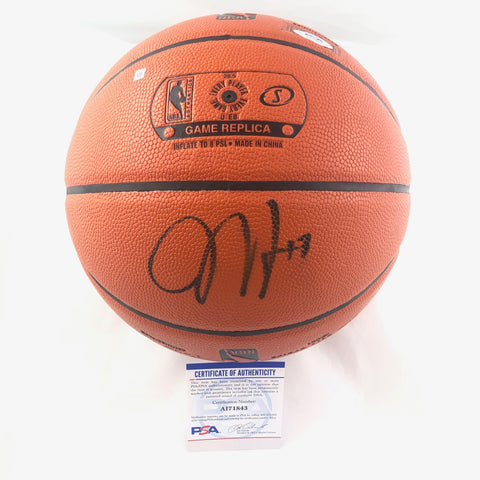 James Harden Signed Basketball PSA/DNA Brooklyn Nets Autographed