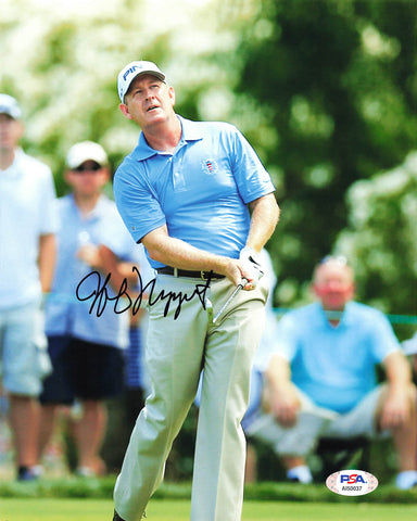 Jeff Maggert Signed 8x10 photo PSA/DNA Autographed Golf PGA