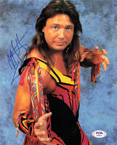 Marty Jannetty signed 8x10 photo PSA/DNA COA WWE Autographed Wrestling
