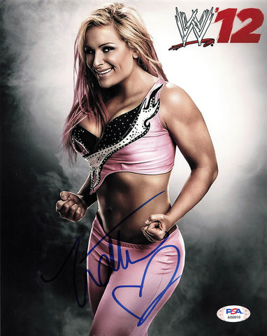 Natalya Neidhart signed 8x10 photo PSA/DNA WWE Autographed Wrestling