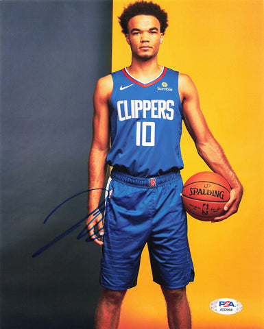 Jerome Robinson Signed 8x10 photo PSA/DNA Los Angeles Clippers Autographed