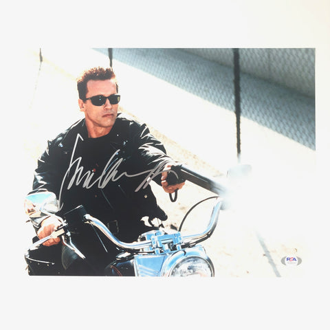 Arnold Schwarzenegger signed 11x14 photo PSA/DNA Autographed