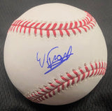 Wander Franco signed baseball PSA/DNA Tampa Bay Rays autographed