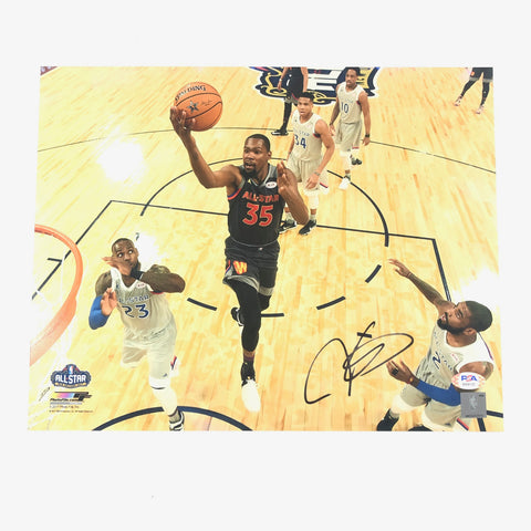 Kevin Durant signed 11x14 photo PSA/DNA Golden State Warriors Autographed Nets