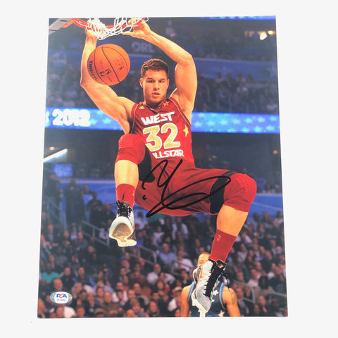 Blake Griffin signed 11x14 photo PSA/DNA Los Angeles Clippers Pistons Autographed