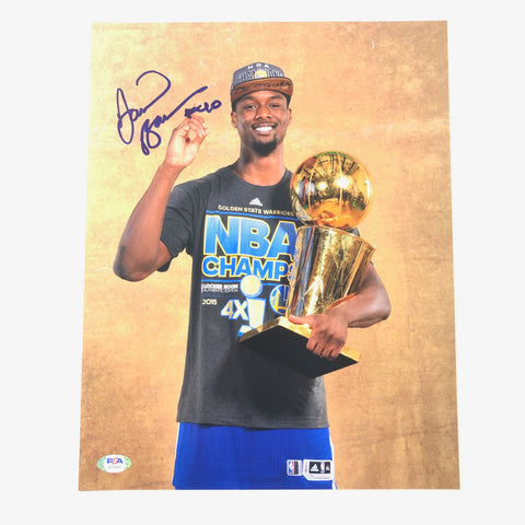Harrison Barnes signed 11x14 photo PSA/DNA Golden State Warriors Autographed