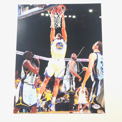 James Michael McAdoo Signed 11x14 photo PSA/DNA Golden State Warriors Autographed