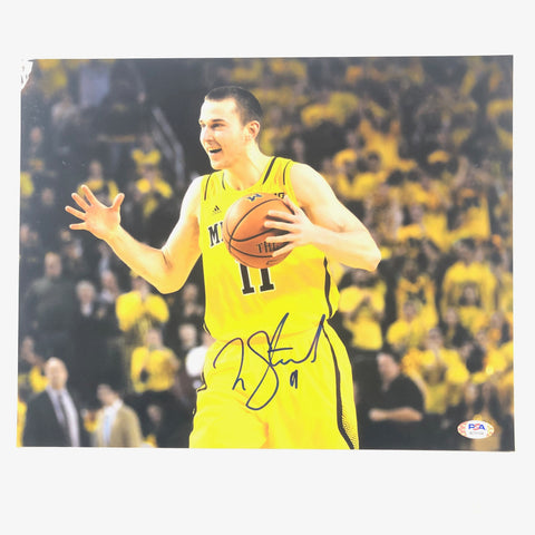 Nik Stauskas signed 11x14 Photo PSA/DNA Michigan Wolverines Autographed
