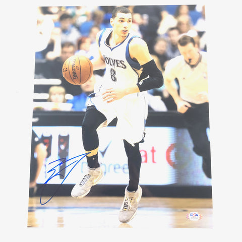 Zach Lavine signed 11x14 photo PSA/DNA Minnesota Timberwolves Autographed Bulls