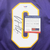 Kyle Kuzma signed jersey PSA/DNA Los Angeles Lakers Autographed
