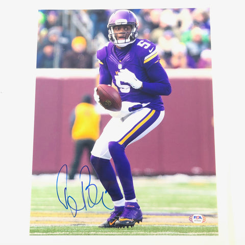 Teddy Bridgewater signed 11x14 photo PSA/DNA Minnesota Vikings Autographed