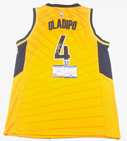Victor Oladipo signed jersey PSA/DNA BAS Beckett Indiana Pacers Autographed