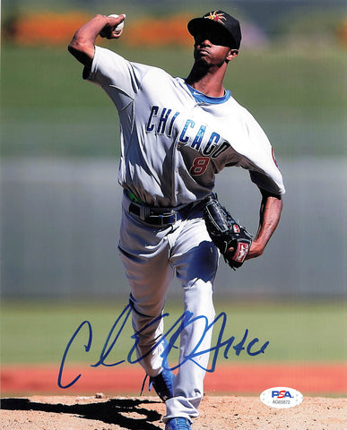 Carl Edwards Jr signed 8x10 photo PSA/DNA Chicago Cubs Autographed