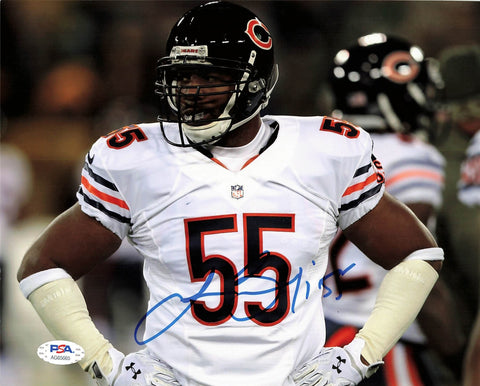 Lance Briggs signed 8x10 photo PSA/DNA Chicago Bears Autographed