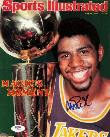 Magic Johnson signed 8x10 photo PSA/DNA Los Angeles Lakers Autographed