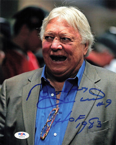Bobby Hull signed vintage 8x10 photo PSA/DNA Chicago Black Hawks Autographed