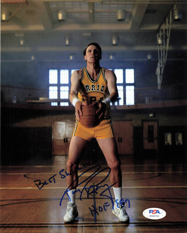 Rick Barry signed 8x10 photo PSA/DNA Golden State Warriors Autographed HOF