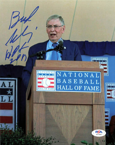 Allan Bud Selig signed 8x10 photo PSA/DNA Autographed