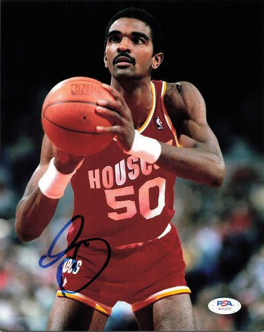 Ralph Sampson signed 8x10 photo PSA/DNA Houston Rockets Autographed