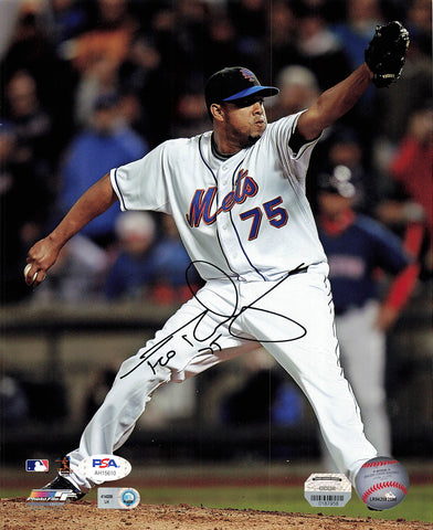 Francisco Rodriguez signed 8x10 photo PSA/DNA New York Mets Autographed