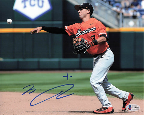 Nick Madrigal signed 8x10 photo BAS Beckett White Sox Autographed