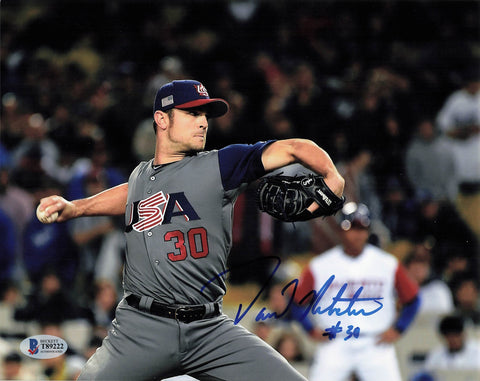 David Robertson signed 8x10 photo PSA/DNA Team USA Autographed