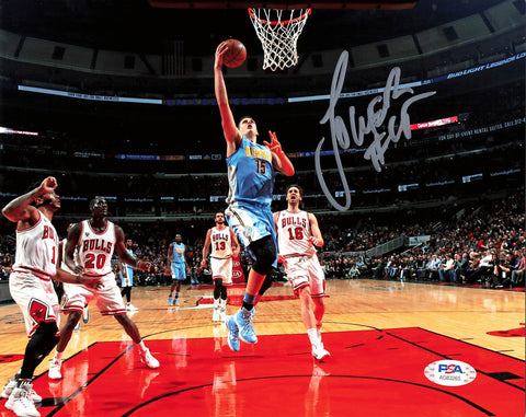 Nikola Jokic signed 8x10 photo PSA/DNA Denver Nuggets Autographed