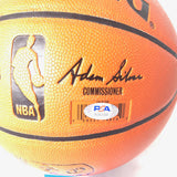 Kyle Kuzma signed Basketball PSA/DNA Los Angeles Lakers autographed