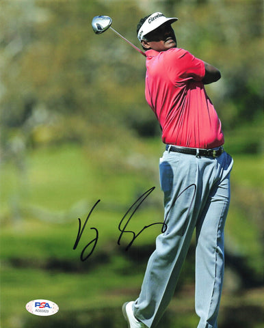Vijay Singh signed 8x10 photo PSA/DNA Autographed Golf