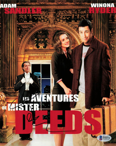 Adam Sandler signed 8x10 BAS Beckett Mr. Deeds Movie Autographed