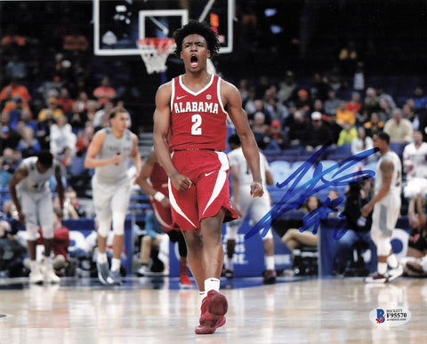 Collin Sexton signed 8x10 photo BAS Beckett Alabama Crimson Tide Autographed