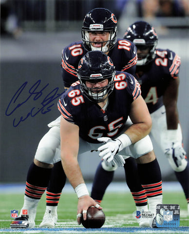 Cody Whitehair signed 8x10 photo BAS Beckett Chicago Bears Autographed