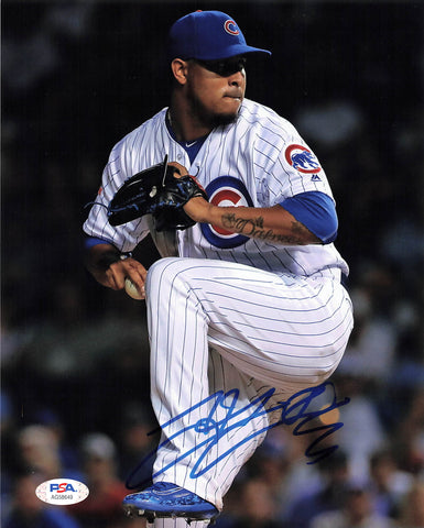 Hector Rondon signed 8x10 photo PSA/DNA Chicago Cubs Autographed